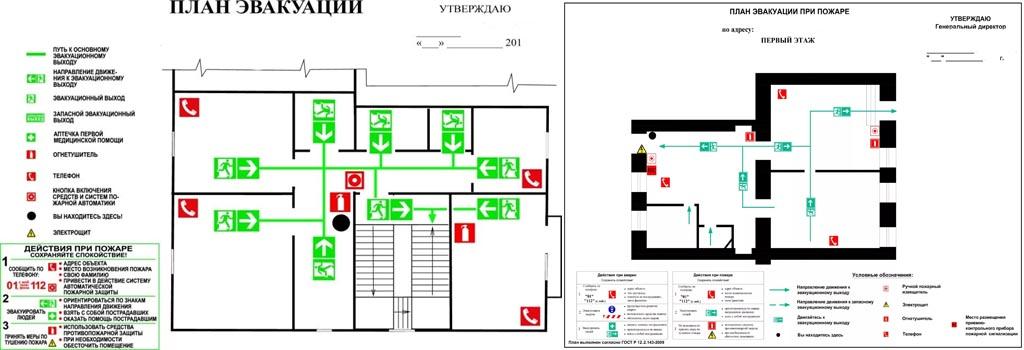 Разработка плана пожарной эвакуации в Москве
