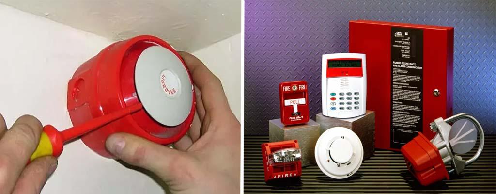 Монтаж системы пожарной сигнализации от ПТМ24