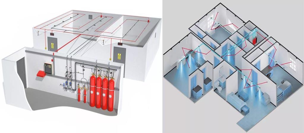 Заказать проектирование систем пожаротушения