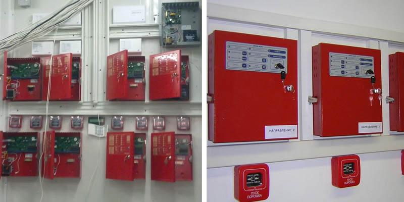 Монтаж системы автоматической пожарной сигнализации в Москве